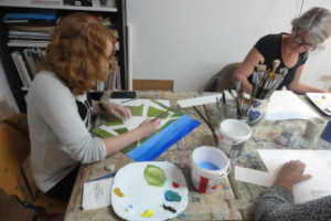 Cursus schilderen en tekenen voor beginners en gevorderden maandagavond heerenveen