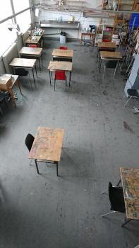 Cursuslokaal Kunsthuis de Vleugel Heerenveen