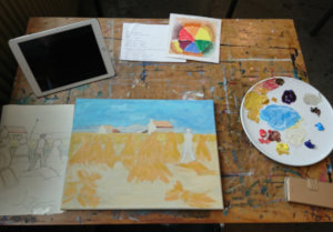 Tekenen en schilderen cursus Heerenveen. Leerzaam en gezellig